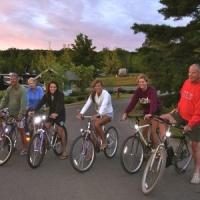 Biking Through Indigo Bluffs
