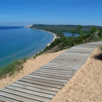 Empire Bluffs Trail Sleeping Bear Dunes