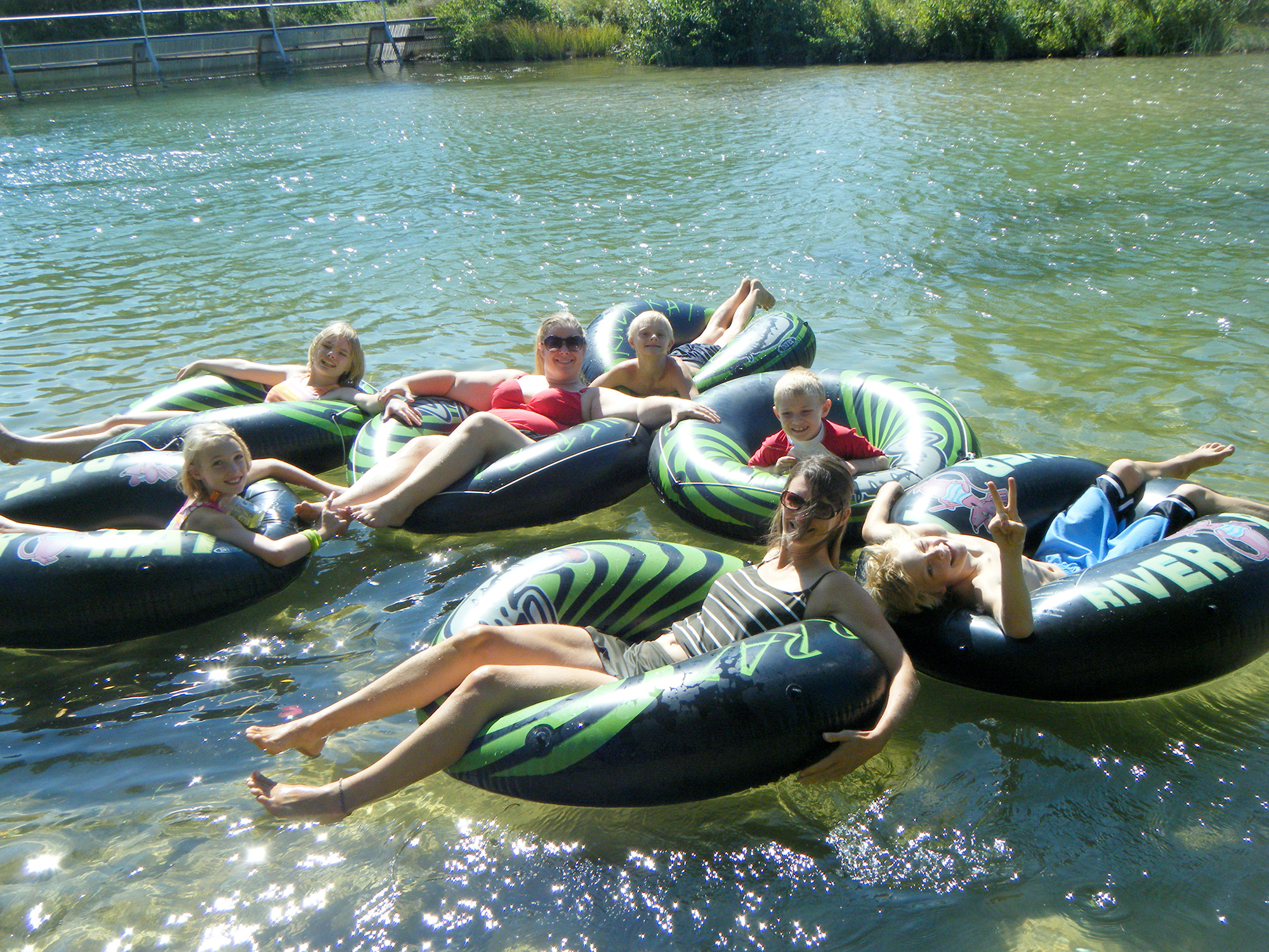 River Tubing Indigo Bluffs