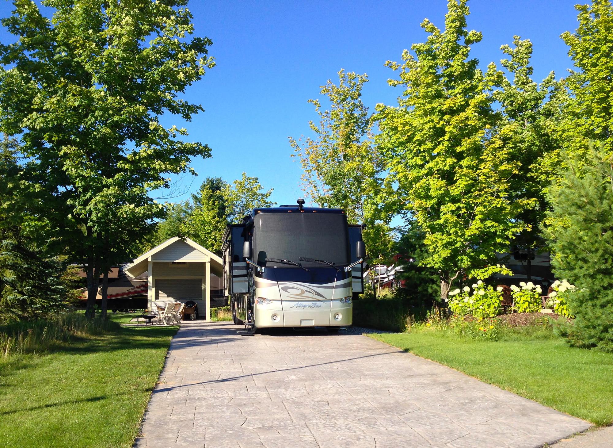 Indigo Bluffs Rv Park Amp Resort Empire Michigan