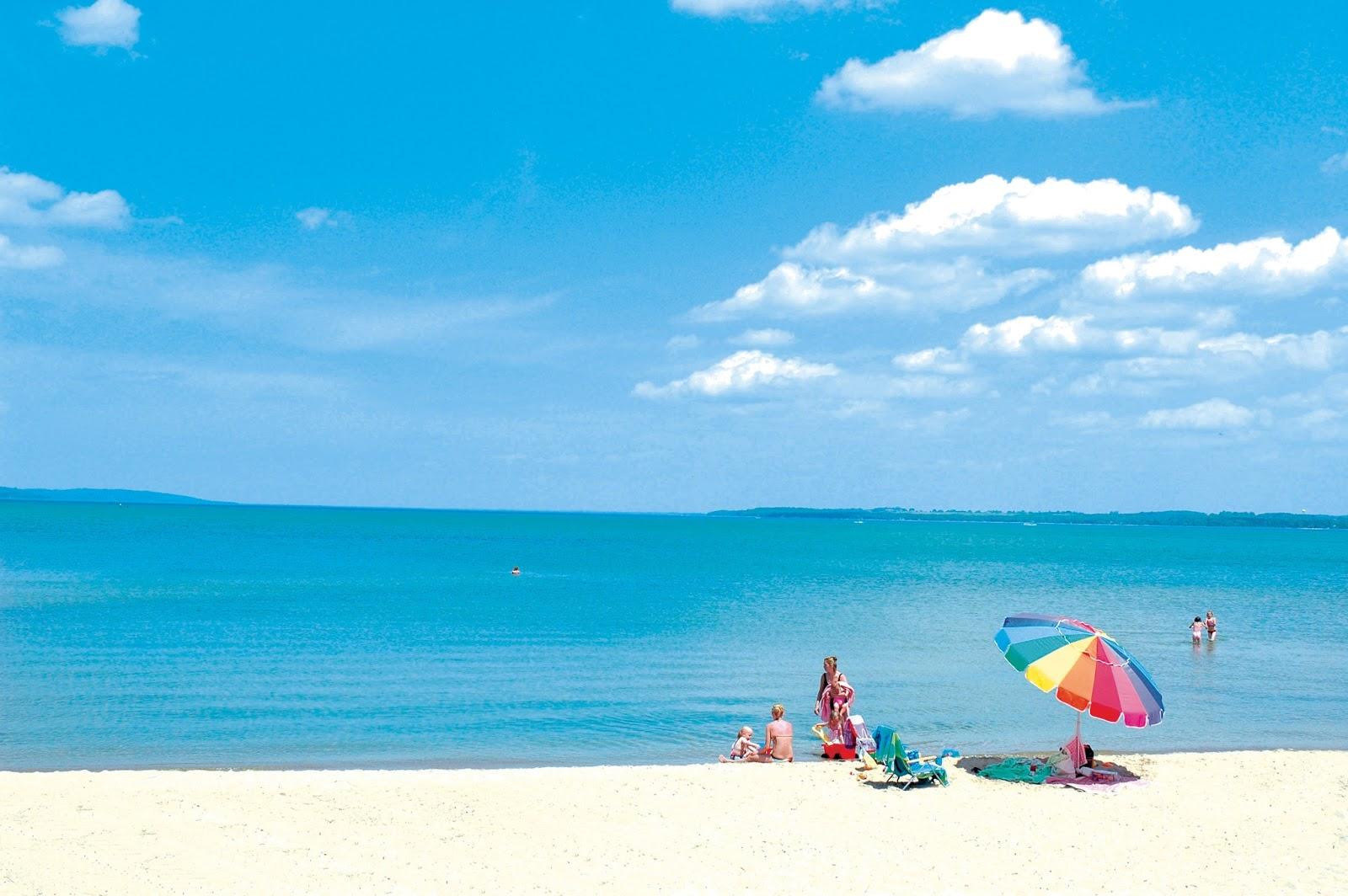 Beaches In Northern Michigan Indigo Bluffs
