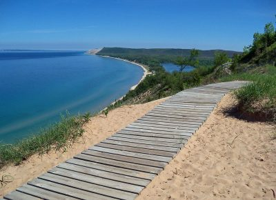 Empire Bluffs Trail Lake Michigan Overlook