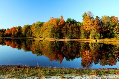 Sabin Pond in Autumn