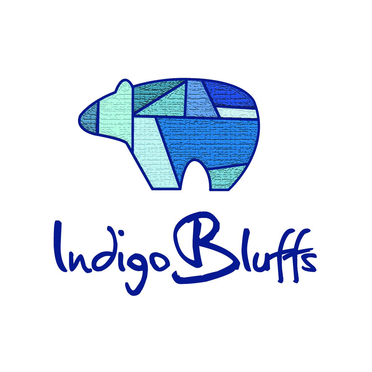 Indigo Bluffs Bear Logo Brand Indigo Bluffs Rv Park Amp Resort
