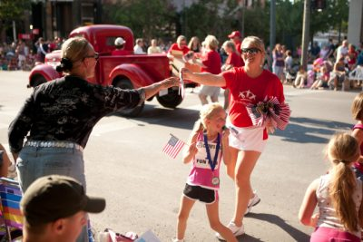 National Cherry Festival Parade in Downtown Traverse City
