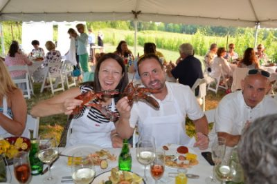 Dining in the Vines Lobster Edition