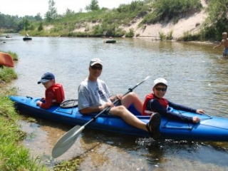 Kayaking the Crystal River