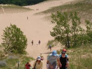 Sleeping Bear Dunes Dune Climb
