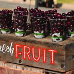 Cups of Cherries at the Cherry Festival